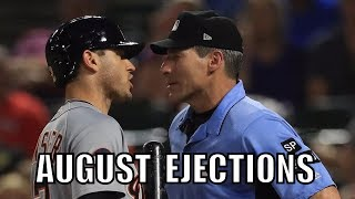 MLB | 2017 August Ejections ᴴᴰ