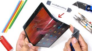Can a Folding Phone Bend Both Ways?! - Bend Test!
