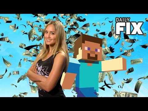 Microsoft Buys Mojang & Smash Bros. Release Date? - IGN Daily Fix