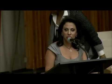 Brigitte Gabriel rails against Global Anti-Semitism at UN conference Sept 8, 2014