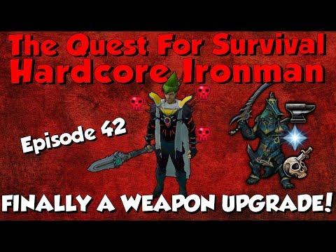 Hardcore Ironman! I GOT A DROP! [Runescape 3] Episode #42