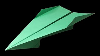 How to make a Paper Airplane that FLIES 100 FEET - EASY paper planes 🔻 Archer