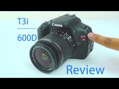 Canon EOS Rebel T3i Review   Canon EOS 600D Review   with Video + Picture Test