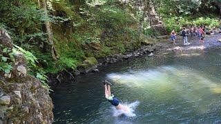 Cavitt Creek Falls, Roseburg, Oregon