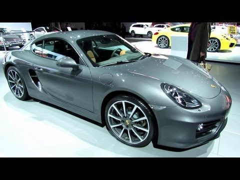 2014 Porsche Cayman - Exterior and Interior Walkaround - 2013 New York Auto Show