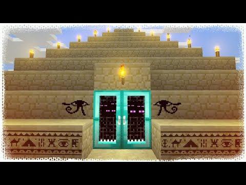 PİRAMİT YAPTIM ! Minecraft ZoR MoD #8