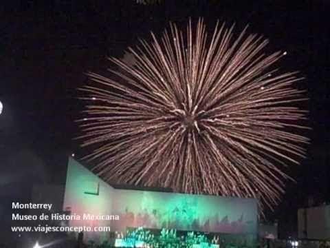 Monterrey Museo de Historia - Celebración Luz y Sonido
