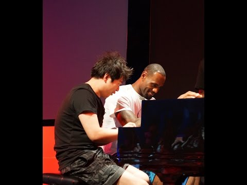 4-Hand Piano - Lang Lang and LeBron James!
