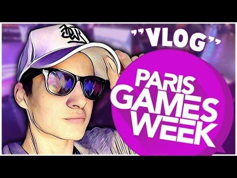 Le VLOG,REPORTAGE,FAIL de la ParisGamesWeek 2016 !