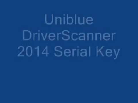 Uniblue DriverScanner 2014 Serial Key 100 % Working