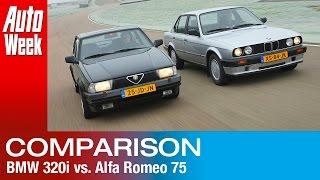 Occasion dubbeltest - BMW 320i vs. Alfa Romeo 75