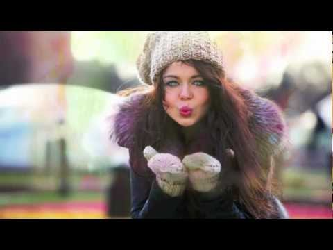 Смотреть клип Алина Гросу - По белому снегу