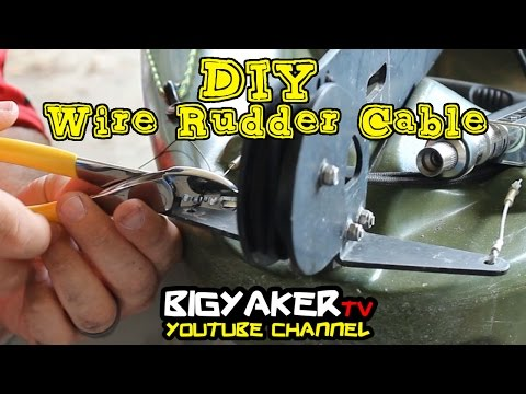 Wire Rudder Cable   DIY   Vibe Kayaks