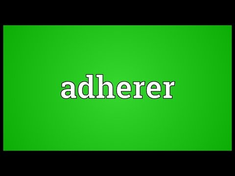 Header of Adherer