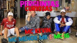 MC KEVIN, MC MENOR MR E MC IG TENTANDO FUGIR DAS PERGUNTAS | #HottelMazzafera
