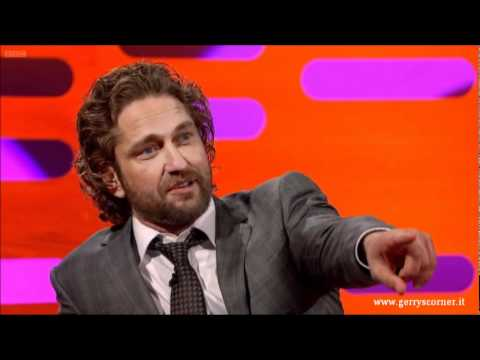 Gerard Butler - The Graham Norton Show (January 6, 2012) Part 1