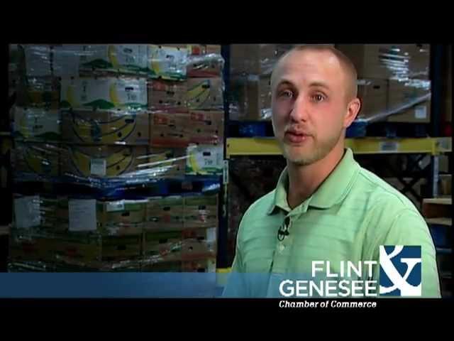 Adam Dunton, Program Coordinator, Food Bank of Eastern Michigan