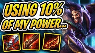 USING 10% OF MY TRUE BRAIN POWER!? | TFT | Teamfight Tactics | League of Legends Auto Chess