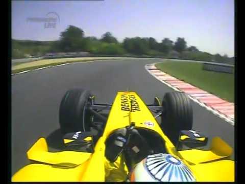 F1 Hungary 2005 Qualifying   Narain Karthikeyan Onboard 480p