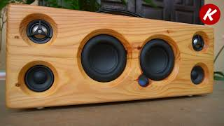 DIY Bluetooth Speaker  Using Pallet Wood