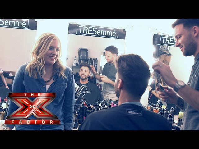 TRESemmé Backstage – Behind the scenes with A Beauty Junkie in London! | The X Factor UK 2014