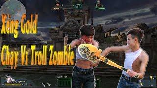 Chạy Zombie Vs Troll Zombie   Truy Kích Zombie   Cười Té Ghế  
