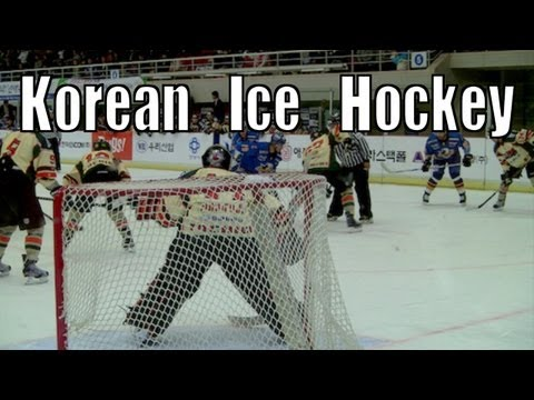 Please Like, Comment, and Subscribe =- Korea has many professional sports: Baseball, Soccer, Basketball, and Ice Hockey. That's right, I said it, Ice Hockey. Recently, I ventured to Anyang...