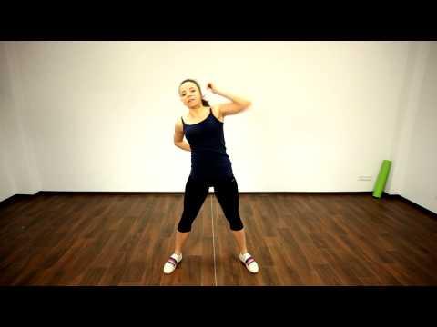6. Фитнес конструктор- 1-1-1-2 Наклоны корпуса, рука за спину.