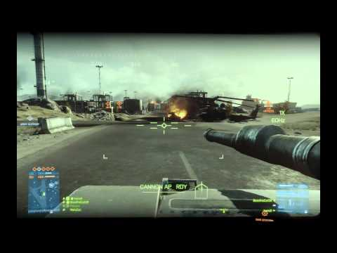 Battlefield 3 ★Tank + CITV Gameplay★[Guided Shell, Zoom Optics, Proximity]★BF3 Teamwork★Pt 2