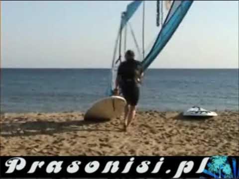 Wyjazd Firmowy - Windsurfing Prasonisi 2009 Październik