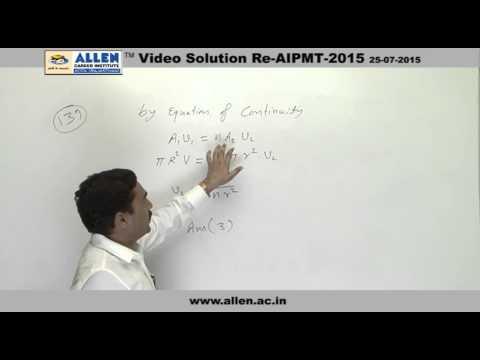 AIPMT 2015 Re-Exam Physics Solution – Q. No. 139, 140 (Paper Code-A)