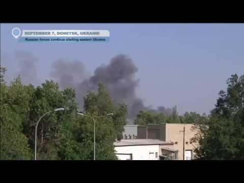 Ukraine Truce Shattered: Kremlin-backed insurgents renew shelling of Donetsk