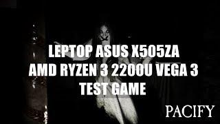 AMD Ryzen 3 2200U Vega 3 - Pacify - ASUS X505ZA