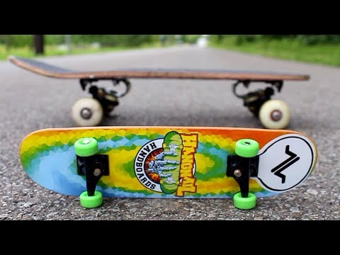 12 Tricks Over A Handboard On A Mini Board