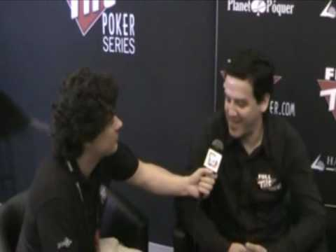 Full Tilt Poker Series Mlaga 2010 - Entrevista Carlos Mortensen Video