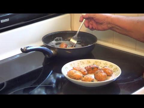 Frituras de Yuca - Una receta mas de frituras pero hechas con yuca or cassava.