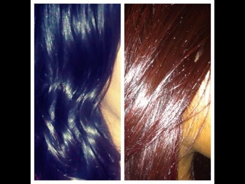 DIY: How to Dye Installed Brazilian/ Malaysian Hair & Frontal Red