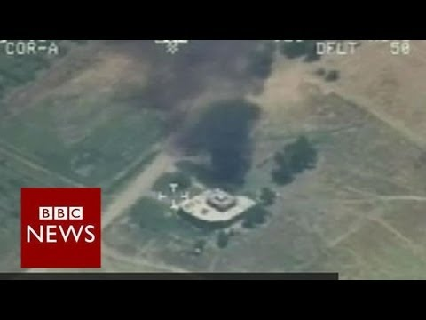 Iraq's air force bombs ISIS targets - BBC News