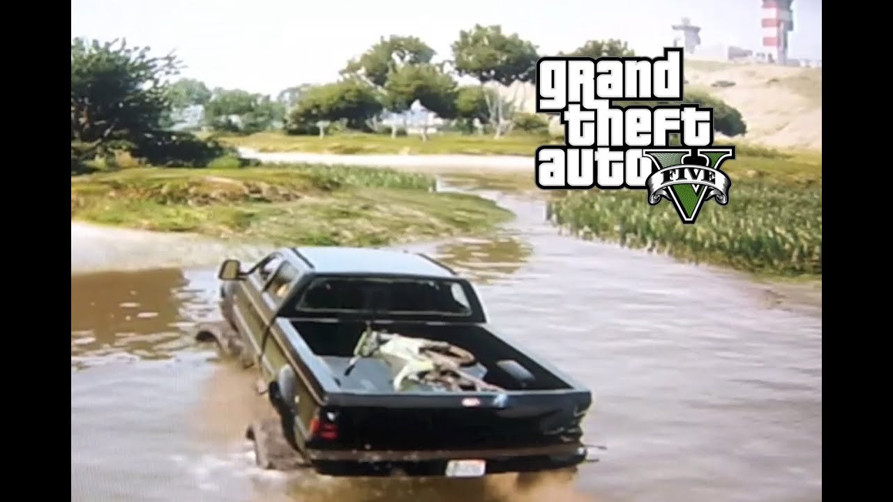 Gta 5 Mudding And Hauling A Dirtbike Youtube