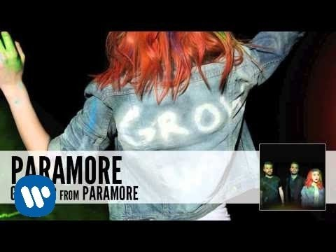 Paramore: Grow Up (Audio)