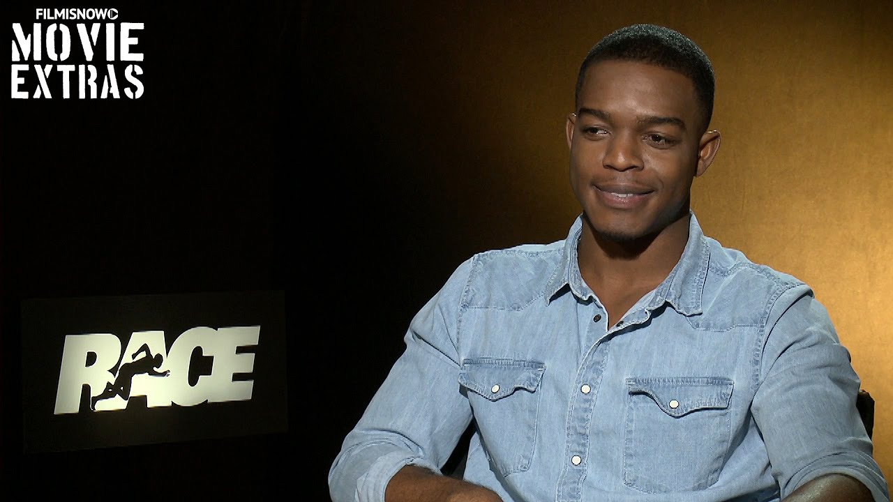 Race (2016) Official Movie Interview - Stephan James