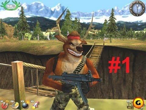 Олень мститель 4 Прохождение часть 1 - Убийство Мусса (Deer Avenger 4)