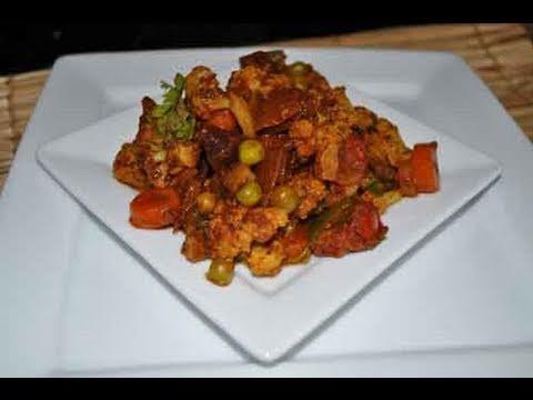 Vegetable Jalfrezi Indian Recipe - Indian Stirfry