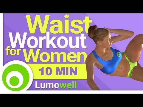 10 Minute Waist Workout for Women