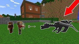 ARDA VE RÜZGAR EJDERHA İLE SAVAŞIYOR! 😱 - Minecraft