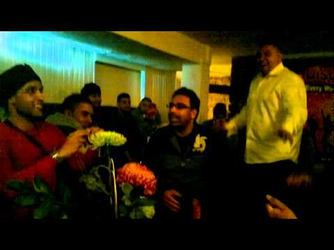 Dholki Dhol session - manchester mumbai nights - indian songs...