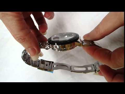 Gearbest - Jijia 8010 Men Mechanical Watch Self - winding Hollow