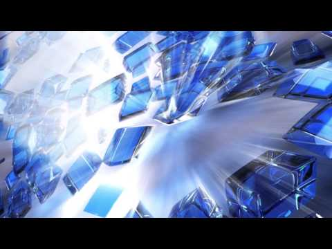 Cubes Blue Animated backgrounds - Animation lights