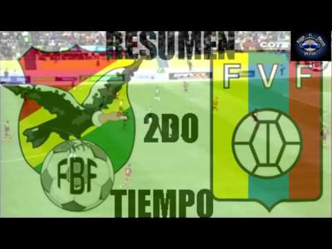 Bolivia 4-2 Venezuela Eliminatorias Rusia 2018