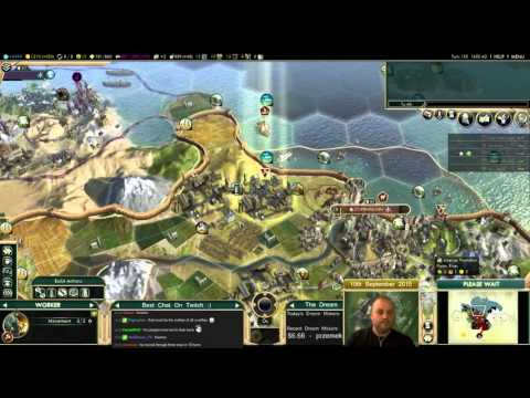 Civilization 5 Multiplayer 144: Japan [6/6] ( BNW 6 Player Free For All) Gameplay/Commentary